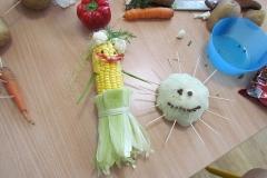 Ludziki z warzyw