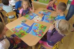Dzień z życia plastusiowego przedszkolaka - Muchomorki