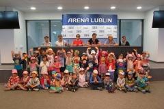 "Na stadionie ""Arena Lublin"""