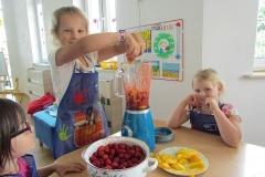 Koktajl owocowy Muchomorków