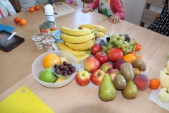 Sałatka owocowa u Biedronek