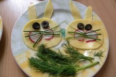 Wiosenne kanapki Biedronek