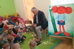 Wizyta Pana Burmistrza z okazji 5-lecia Przedszkola