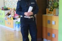Wizyta policji w naszym przedszkolu