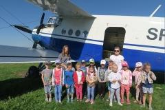 Wycieczka na lotnisko w Radawcu