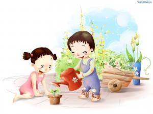98241_ogrodek-dzieci-podlewanie